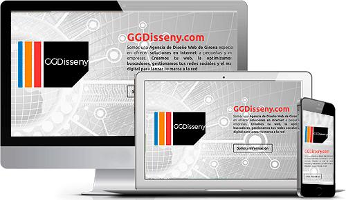 Soluciones en Diseño Web GGDisseny