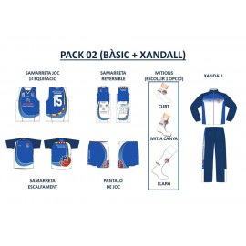 PACK 02 (BÀSIC + XANDALL)