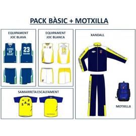 PACK BÀSIC + MOTXILLA