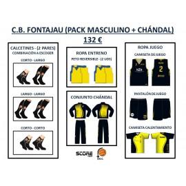 PACK MASCULINO 01 + CHÁNDAL