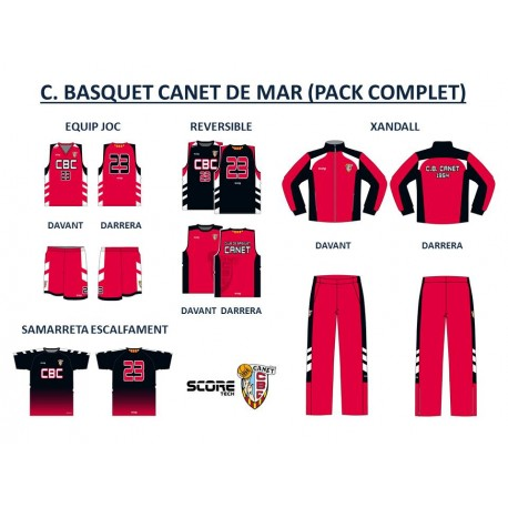 PACK COMPLET