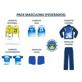 PACK MASCULINO FEDERADOS