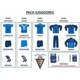 PACK COMPLETO FUTBOL BASE (JUGADORES)