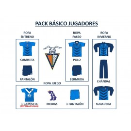 PACK BÁSICO FUTBOL BASE (JUGADORES)