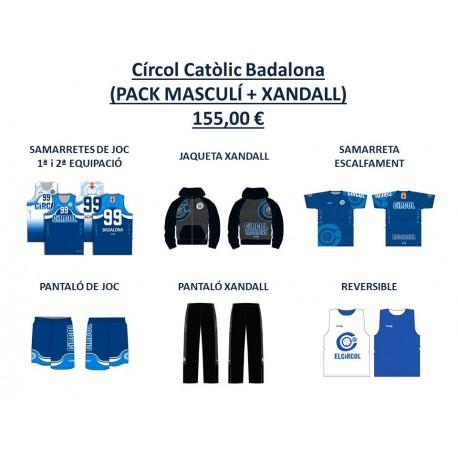PACK BÀSIC MASCULÍ + XANDALL