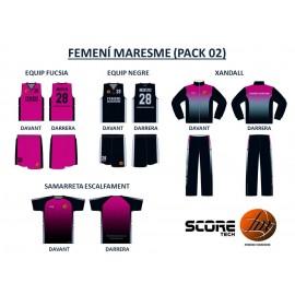 FEMENÍ MARESME (PACK 02)